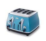 Delonghi 4 Slice Toaster Blue