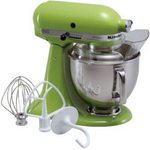 Green Kitchen Aid Stand Mixer