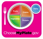 MyPlate Magenta Logo