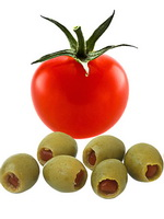 Olives and Tomatoes as a Chlorine Food Source