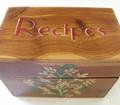 Hand Painted Recipe Box