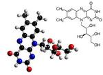 Riboflavin Molecule and Chemical Formula