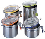 Stainless Steel Canisters 1