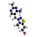 Thiamine Molecule