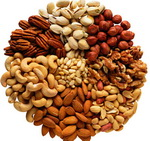 Nuts as a source of Vitamin E