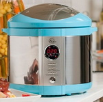Wolfgang Puck Bistro Electric Pressure Cooker Blue