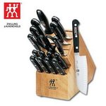 Knife Block With Chefs Knives