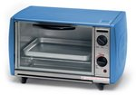 Toaster Oven Blue